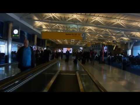 Terminal8 JFK New York inside of TSA 1of2