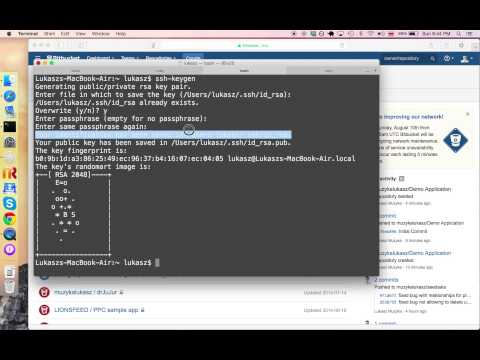 How To Create SSH Key on mac