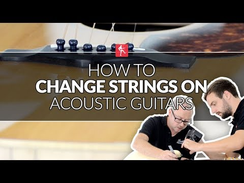 How To Change Strings Like The Pros (Part 5) - Acoustic Guitar Tuners