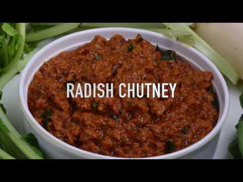 RADISH CHUTNEY - MULLANGI PACHADI
