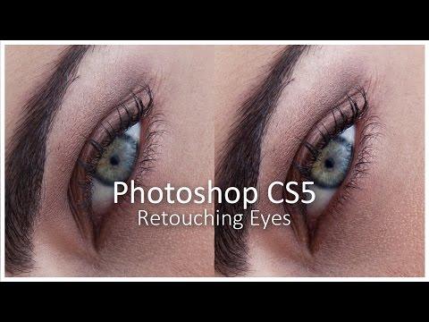[Photoshop CS5] Retouching Eyes