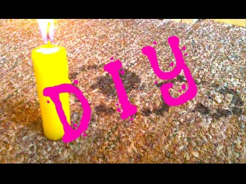 DIY |  How To Remove Candle Wax From Carpet
