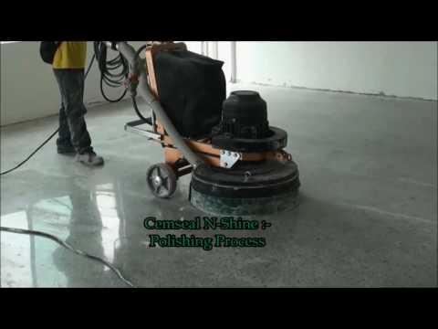 Cemseal N-Shine ~ Concrete Polishing System