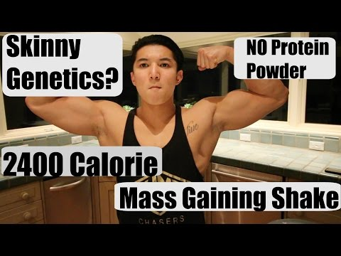 Homemade Mass Gainer Shake | How I gained 20 Lbs in 3 Months