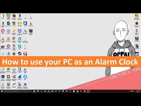Turn Your Pc Into An Alarm Clock Without Any Program Windows 10/8.1/ 7