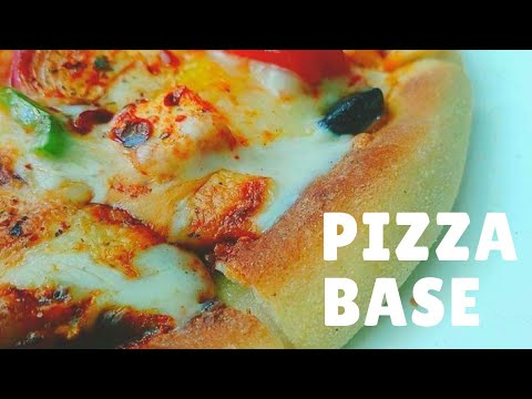 How To Make Pizza Base Recipe At Home | Pizza Recipe | Cheese Pizza Recipe | Pizza Base Recipe