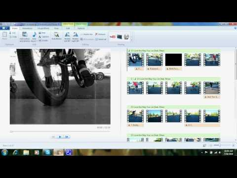 How to do slow motion on Windows 7 Movie Maker