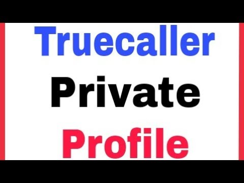 Truecaller View Profiles Privately Settings
