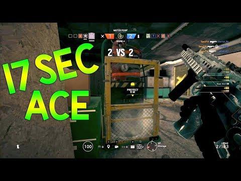17 Sec ACE - Rainbow Six Siege