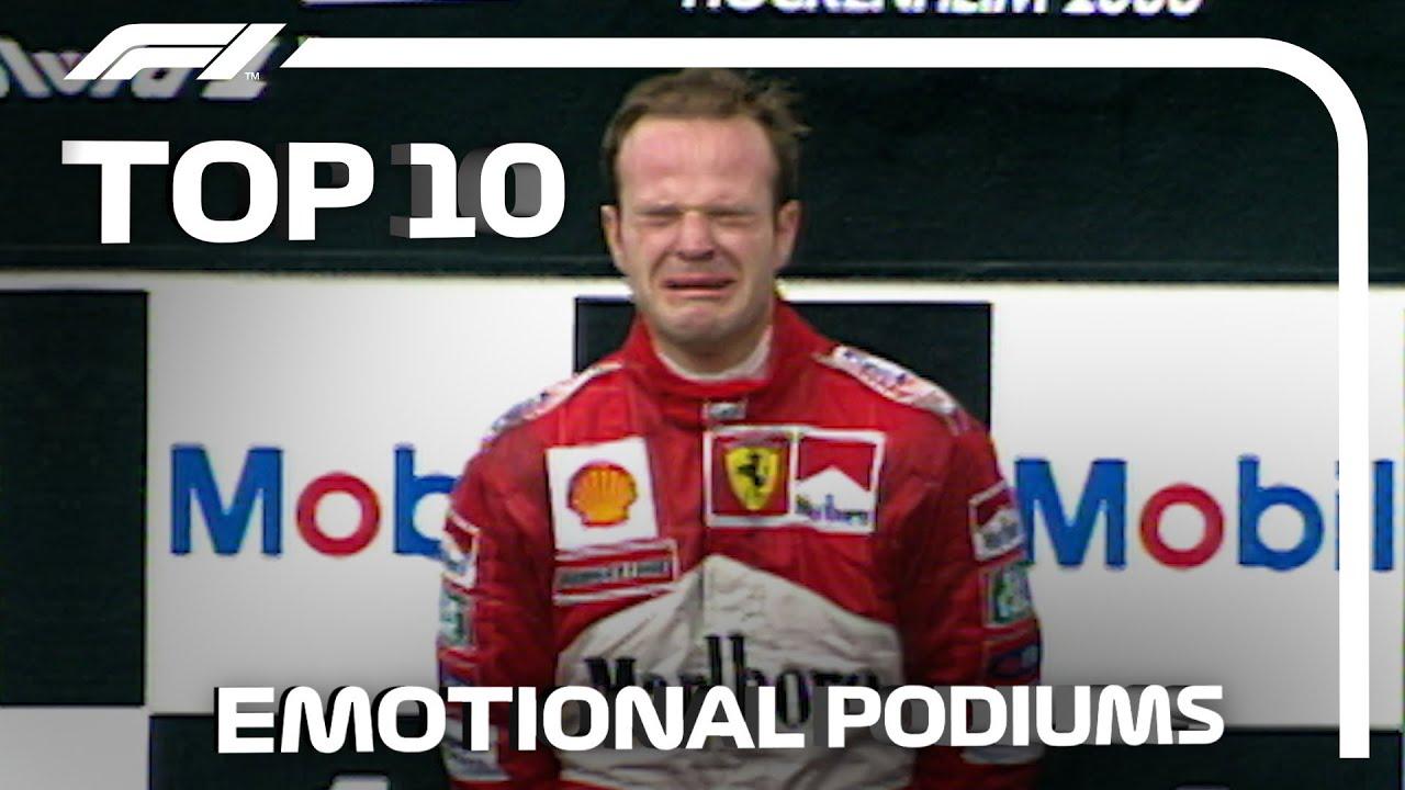Top 10 Emotional Podiums