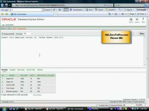 Concept of a Null Value in SQL - Part 1 - SQL LESSON 23