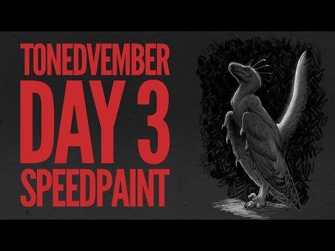 Tonedvember Day 3 Speedpaint