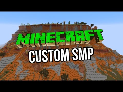 Minecraft SMP Server | CUSTOM BIOMES! | COME AND PLAY!