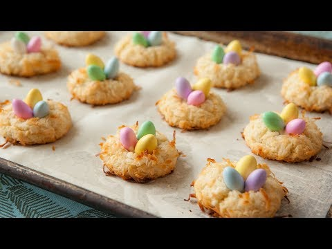 Easter nest biscuits