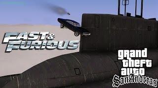 GTA SA Fast And Furious 8 Trailer Remake