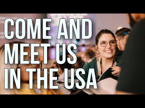 Come and Meet Us in The USA