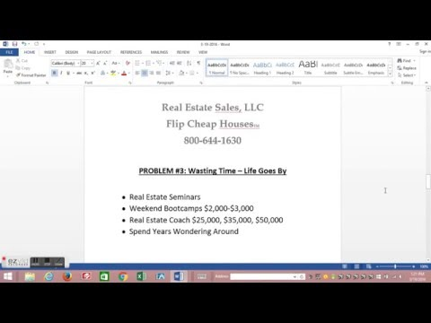 Flip Cheap Houses Webinar