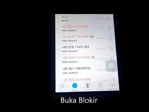 Cara Memblokir Nomor Telepon Asing Pada iPhone