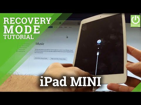 How to Enter Recovery Mode in APPLE iPad mini - Quit APPLE Recovery