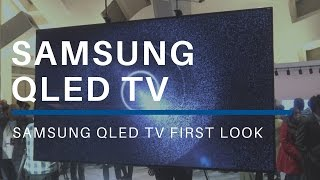 Samsung QLED First Look at CES 2017