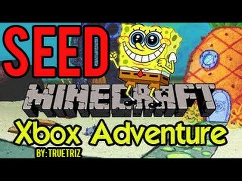 Minecraft (Xbox 360) - Spongebob Bikini Bottom - Seed
