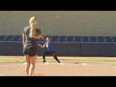 Softball Pitching Drills: Accuracy and Change-up -Amanda Scarborough