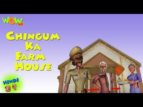 Chingam ka Farm House   Motu Patlu in Hindi WITH ENGLISH, SPANISH & FRENCH SUBTITLES