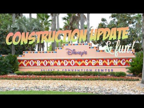 Disney's Coronado Springs Construction update and fun!   2/26/18
