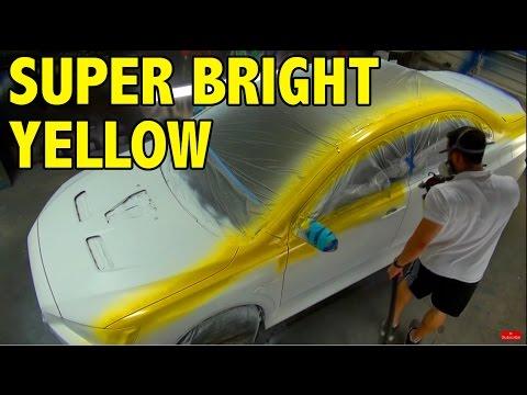Super Clean Yellow Plasti Dip - Color Showcase