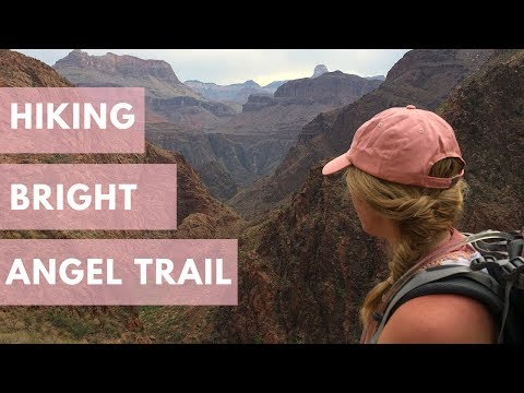 Bright Angel Trail Grand Canyon video