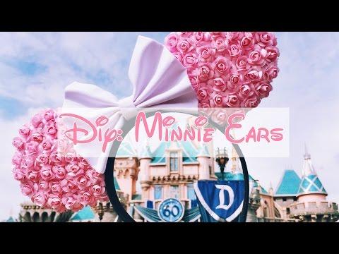 DIY: Floral Minnie Ears