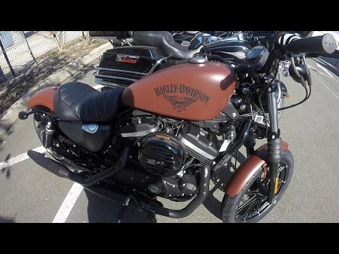 2017 Harley Davidson Sportster Iron 883 - Test Ride and Review - Badass ? - South San Francisco