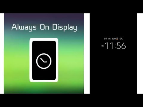 How to install Always On Display in Android Like Glaxy S8 ,LG G6