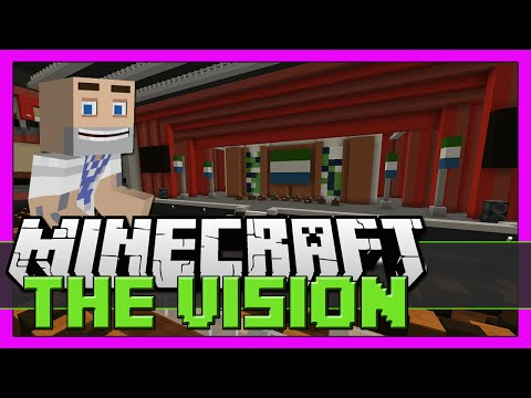 COOL MINECRAFT THEATRE!!!! - The Vision Episode 24