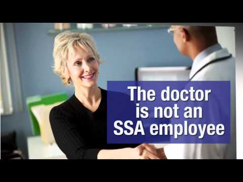 When applying for disability benefits will I have to see a Social Security doctor?