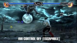 Soul Calibur 5 / V - Devil Jin Combo Exhibition