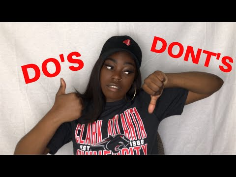 College Talk With Jerry | DO's & DONT's Of College Parties!!
