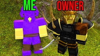 MEETING THE OWNER OF BOOGA BOOGA! (Roblox)
