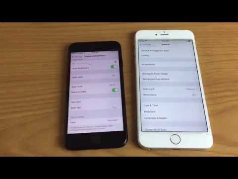 iPhones/iPads/iPods: How to Change Auto Lock Screen Timeout (iOS 7,8,9,10)