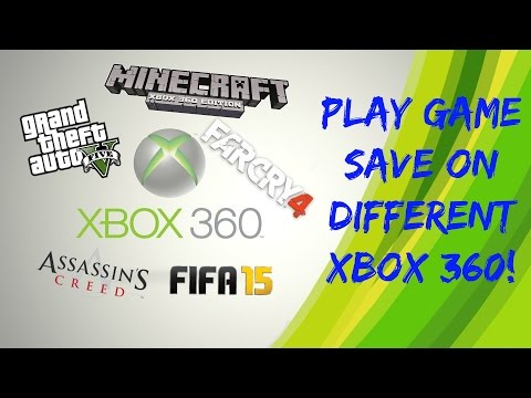 Xbox 360 How To Play Your Game Save On Different Xbox 360! EASY!