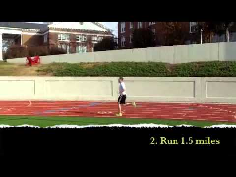 1.5 Mile Run Test