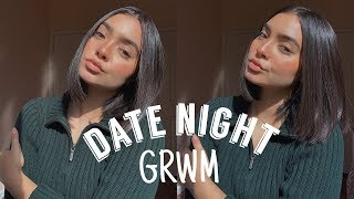 ! GRWM FOR A DATE WITH MY BOY !
