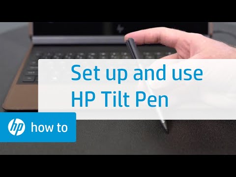 How to Set Up and Use the HP Tilt Pen   HP Accessories   HP
