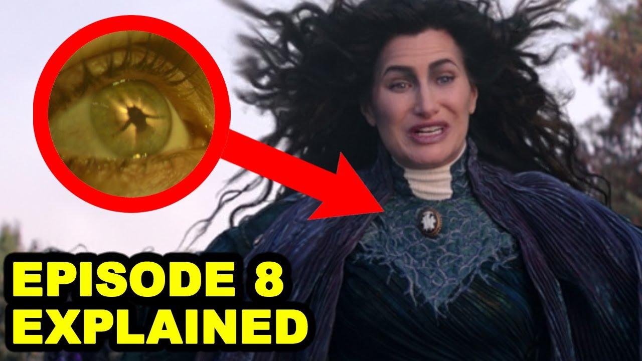 Wandavision Episode 8 Breakdown and Post Credit Explained! Magneto Easter Egg?!