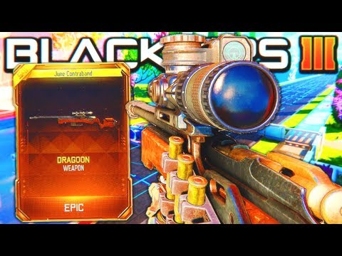 *NEW* DRAGOON (SNIPER) DLC WEAPON GAMEPLAY! - BLACK OPS 3 NEW DLC WEAPONS UPDATE! (BO3 1.30)