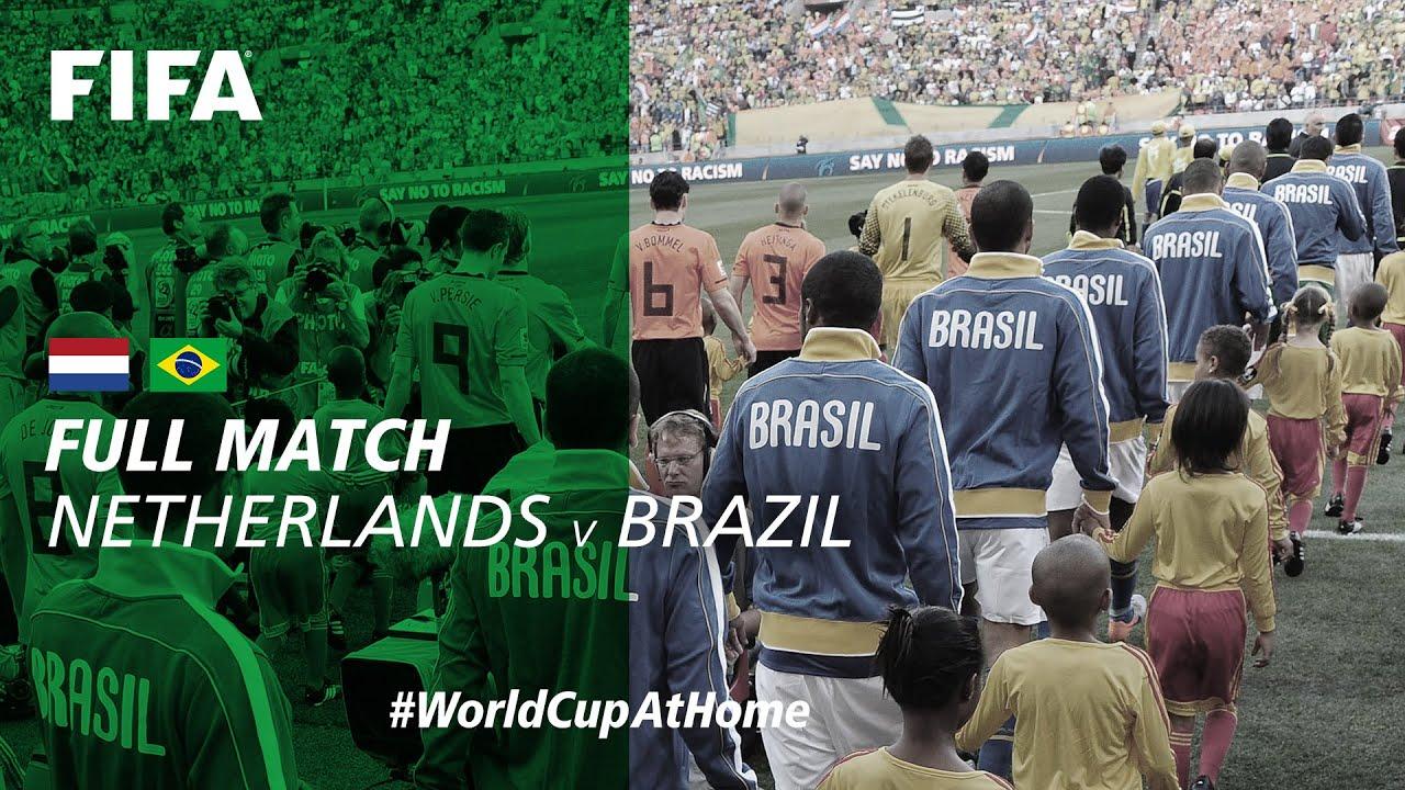 Netherlands v Brazil | 2010 FIFA World Cup | Full Match