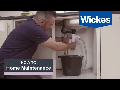 How to Fix a Leaking Sink with Wickes