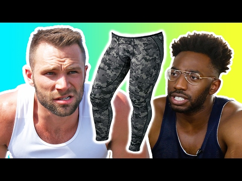 Guys Work Out In Leggings For The First Time