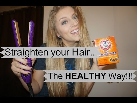 How to Straighten Your Hair the HEALTHY way!!!