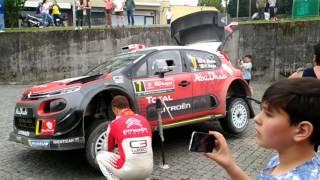 WRC Vodafone Rally de Portugal 2017 em Fafe  HD 1080p